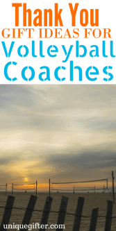 Thank You Gift ideas for Volleyball Coaches | Volunteer coach gifts | End of Season gifts for a coach | What to buy our team coach | Teacher coach present ideas