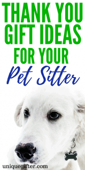 20 Thank You Gift Ideas for your Pet Sitter