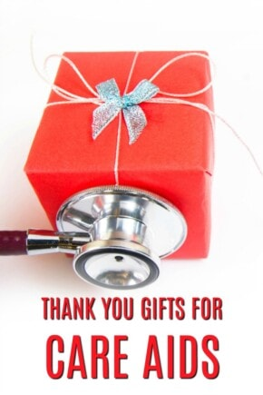 Thank you gift ideas for care aids   Christmas presents for a care aid   Nursing home thank yous   Gifts for care aids   What to buy a care aid