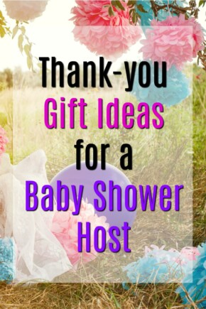 Baby Shower Host Thank You Gifts