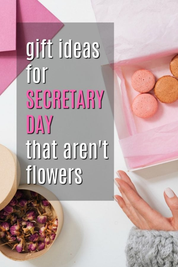 Gift Ideas for Secretary Day That Aren't Flowers