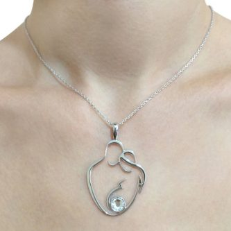 Mother to be necklace gift ideas for your pregnant friend