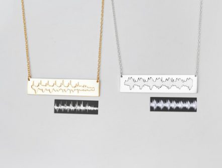 heartbeat necklace expectant mother gift idea - perfect gift ideas for your pregnant friend