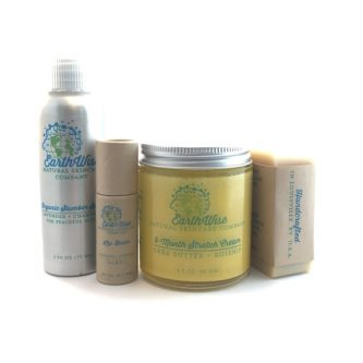 Skin care set gifts for your pregnant friend - baby shower gift idea