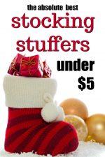 50 Stocking Stuffer Ideas Under $5