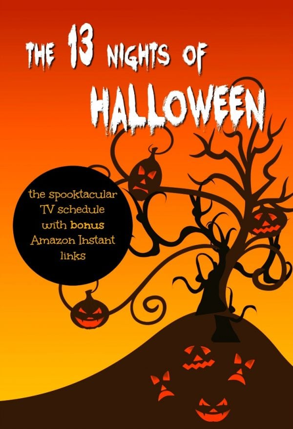 13 Nights of Halloween - TV Lineup for 2017 - Unique Gifter
