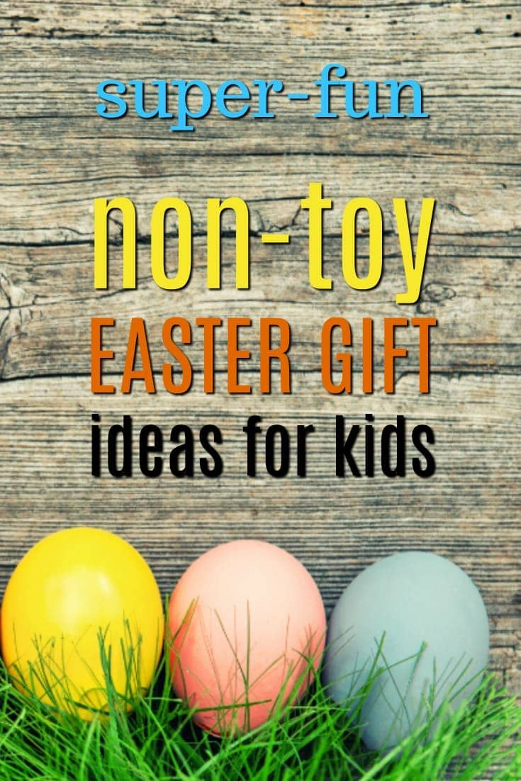 Easter Gift Ideas for Kids | Non-Toy Gifts | Creative Easter Basket Ideas | What the Easter Bunny brings | Practical Easter Treats