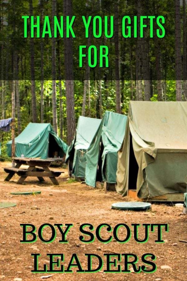 20 Thank You Gift Ideas for Boy Scout Leaders