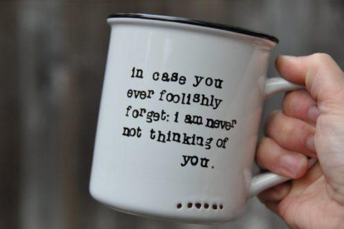 mug thinking of you