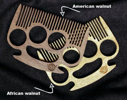 wooden beard comb Gift Ideas for your Rich Friend