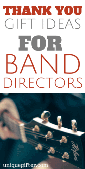 20 Thank You Gift Ideas for Your Band Director