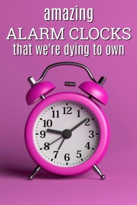 Amazing Alarm clocks | Fun alarm clocks | Creative Decor | Bedroom decoration | Gifts for college students | Unique presents | Christmas & Birthday Gift Ideas