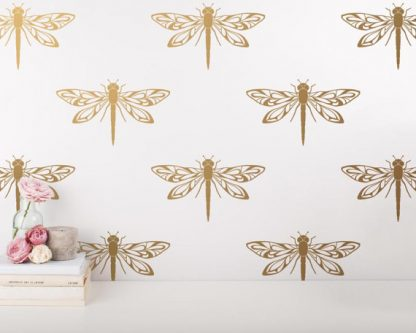 This gift ideas for dragonfly lovers would be beautiful on a statement wall.
