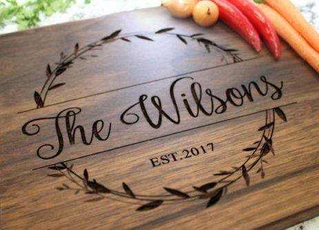 cutting board thank you gift ideas for mentors
