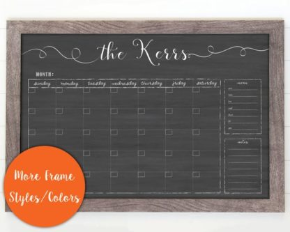 Calendars are practical thank you gift ideas for mentors