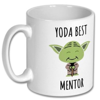 Yoda best mentor gift idea - funny mentor thank you gift