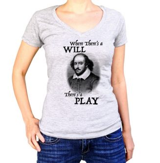 This sassy t-shirt is perfect for gift ideas for Shakespeare lovers.