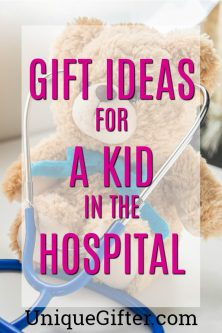 20 Gift Ideas for a Kid in the Hospital