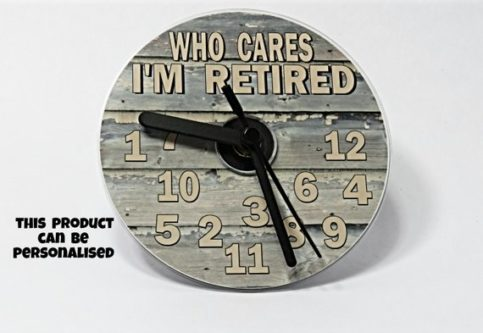 No one cares about the time anymore so this retirement gifts for teachers is a good one.