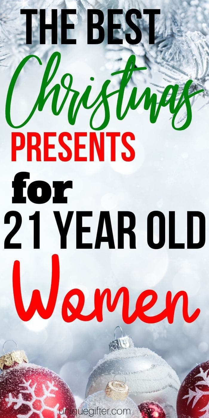 Christmas Gifts for 21-Year-Old Women | Christmas Gifts | 21-Year-Old Woman Gifts | Unique Gifts For Women | Creative Women Gifts | #gifts #giftguide #presents #women #twentyoneyearold #creative #uniquegifter