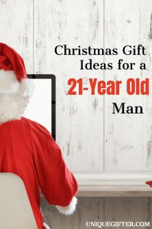 Christmas Gift Ideas For A 21 Year Old Man