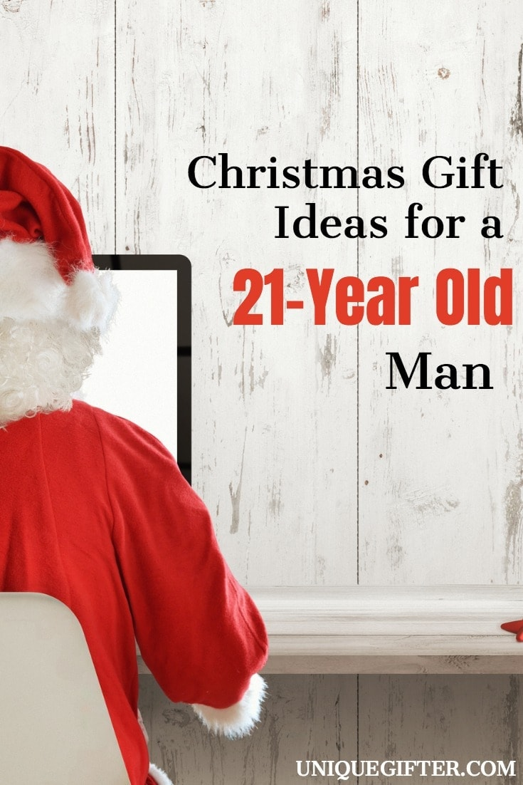 Christmas Gift Ideas for a 21-Year-Old Man | What to get someone in his 20s | Birthday Presents for my Boyfriend | What to get my brother as a gift | Gifts that guys like | Fun valentine's day gifts for guys | What to buy a millennial man | For Him | For Men | male gift ideas