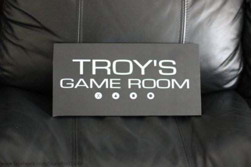 When they have their own game room, this sign makes a great gamer valentine's gift ideas.