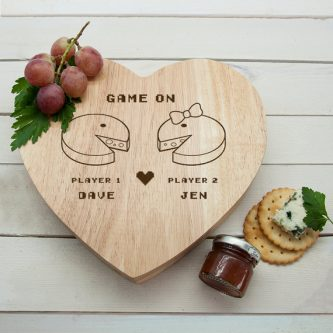 Gamers even like cheese so this a great gamer valentine's gift ideas.