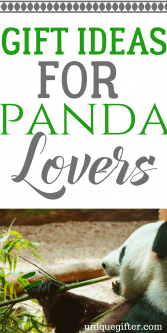 Gift Ideas for Panda bear Lovers | Birthday presents for people who like pandas | Creative Christmas presents | Panda bear decor | Birthday gifts for men and women | Animal Lover presents | Anniversary gifts with pandas | Panda bear prints | Panda bear cookie cutter | Panda bear accessories