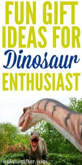 20 Fun Gift Ideas for Dinosaur Enthusiasts