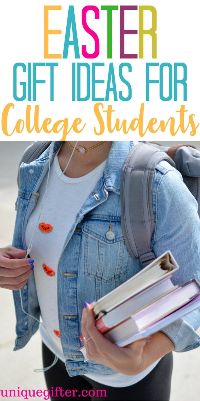 Appropriate Easter Gifts Ideas for College Students | Fun things to get a college student for Easter | Easter Egg Hunt items for college students | What to put in an Easter basket for a college student | fun Easter presents for college students |Easter Gifts Ideas for College Students | #Easter #GiftIdeas #College