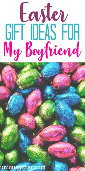 Appropriate Easter Gifts Ideas for my boyfriend | Fun things to get a boyfriend for Easter | Easter Egg Hunt items for a boyfriend | What to put in an Easter basket for a boyfriend | fun Easter presents for a boyfriend |Easter Gifts Ideas for a boyfriend | #Easter #GiftIdeas #boyfriend