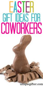 Appropriate Easter Gifts Ideas for a Coworker | Fun things to get a coworker for Easter | Easter Egg Hunt items for Coworkers | What to put in an Easter basket for a Coworker | fun Easter presents for Coworker |Easter Gifts Ideas for Cowokers | #Easter #GiftIdeas #Coworker