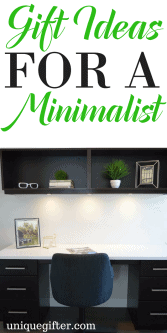 20 Gifts for a Minimalist