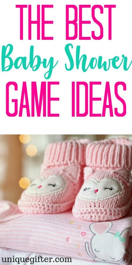 20 Baby Shower Game Ideas