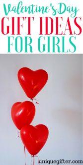 Valentine's Day Gift Ideas for Girls