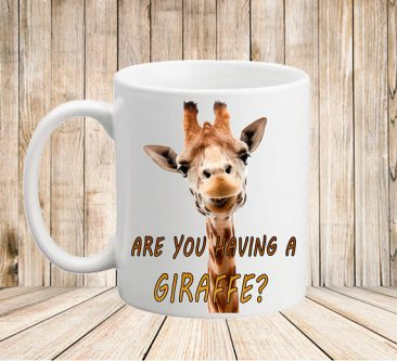 This gift ideas for giraffe lovers will make them laugh every time they take a snip.