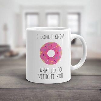 With this valentine's day gift ideas for coworkers, you can let them know you love them and donuts.