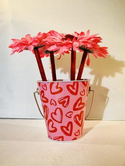 A pent pot is perfect for valentine's day gift ideas for coworkers.