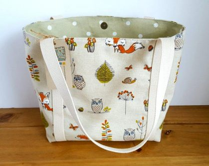 This cute tote bag is just what gift ideas for fox lovers ordered!