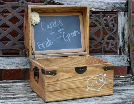A treasure box is a perfect gift ideas for an older woman.