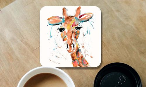 This gift ideas for giraffe lovers would be cute on any table.