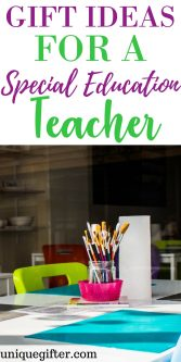 Gift Ideas for a Special Education Teacher | Christmas presents for Special Education Teachers | SpecEd Thank You Gifts | Ways to thank a special education teacher | Classroom support gifts