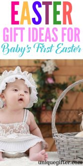 Easter Basket Gift Ideas for baby girls and boys | First Easter gifts | What to buy in an Easter Egg hunt for an infant girl or infant boy | Fun kids present ideas | Gift Basket inspiration for a little girl or little boy | What to buy a newborn child | Easter Egg hunt ideas | Fun gifts | Baby's First Easter