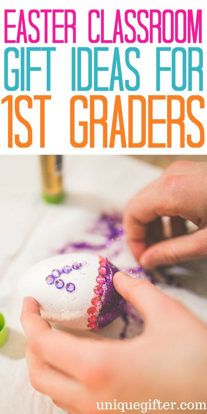 Easter Classroom Gifts for 1st Grade Students | Gifts a teacher can buy for the whole class | What to buy my students for Easter | Cute and Cheap gifts for First Graders | Easter egg hunt presents | Affordable Easter Ideas | Easter Egg Hunts in School | School gift ideas | Room Parent presents for Easter | Gifts for a teacher to buy their pupils | Grade One