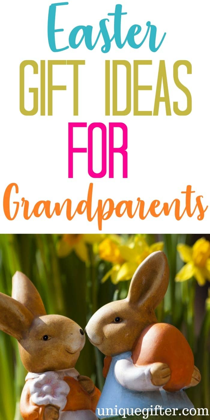 Easter Basket Gift Ideas for Grandparents | Fun things to get my Mom and Dad for Easter | Easter Egg Hunt items for grandparents | What to put in an Easter basket for my grandma or grandpa | fun Easter presents for adults