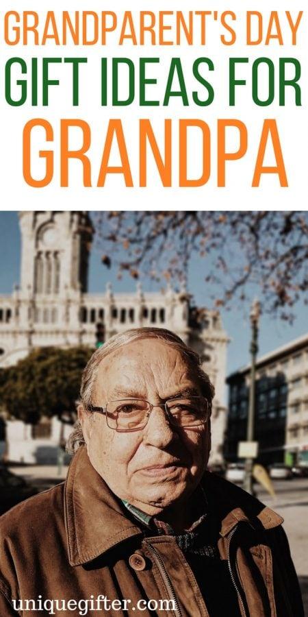20 Grandparents' Day Gift Ideas for Grandpa