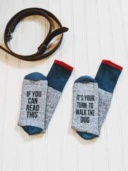 This father's day gifts for dog dads will let someone else know it's their turn.
