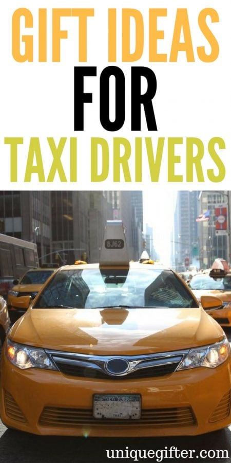 Gift Ideas for a Taxi Driver