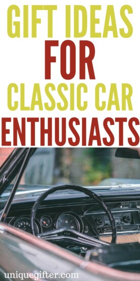 Gift Ideas for Classic Car Enthusiasts | What to buy people who love cars | Classic Car Rebuilder gifts | Fun birthday gifts for my dad | Creative Christmas presents for my mom | Car restorer ideas | Classic muscle car fun | Unique gifts for my boyfriend or girlfriend | Presents for people who love to tinker in the garage | hot rod memorabilia